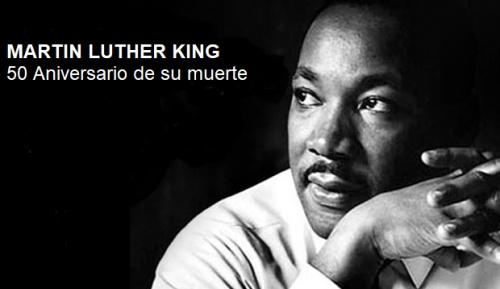 Conferencia-coloquio: MARTIN LUTHER KING, LA FUERZA DE UN SUEÑO