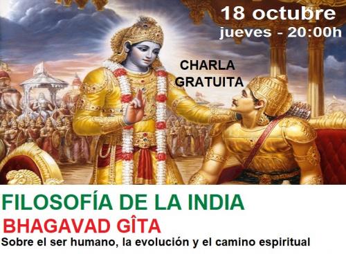 Charla gratuita: FILOSOFÍA DE LA INDIA: Bhagavad Gîta